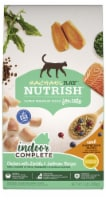 Rachael Ray Nutrish Indoor Complete Chicken With Lentils & Salmon Dry Cat Food