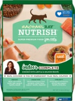 Rachael Ray Nutrish Indoor Complete Chicken with Lentils & Salmon Recipe Dry Cat Food - 14 lb