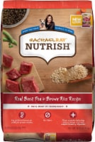 Rachael Ray Nutrish Real Beef Pea & Brown Rice Recipe Dry Dog Food