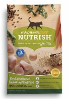 Rachael Ray Nutrish Real Chicken & Brown Rice Recipe Dry Cat Food
