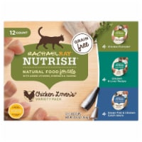 Rachael Ray Nutrish Grain-Free Chicken Lovers Wet Cat Food Variety Pack 12 Count