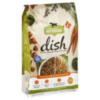 Rachael Ray Nutrish Dish Chicken & Brown Rice with Veggies & Fruits Dog Food - 3.75 lb