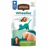 Rachael Ray Nutrish Wheelies Real Chicken Cat Treats