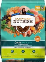 Rachael Ray Nutrish Super Medleys Wellness Blend Superfoods & Chicken Recipe Dry Dog Food