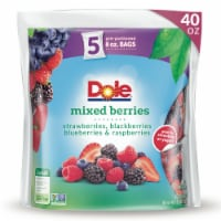 Dole Mixed Berries Pre-Portioned Packets