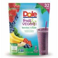 Dole Frozen Fruit & Veggie Berries 'n Kale Blend
