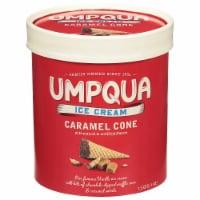 Umpqua Caramel Cone Ice Cream
