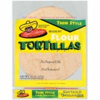 Lynn Wilson's Thin Style Flour Tortillas 10 Count