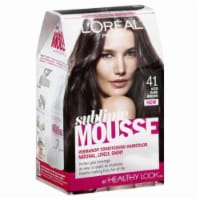L Oreal Sublime Mousse Hair Color 41 Iced Dark Brown