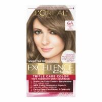 L'Oreal Paris Excellence Creme 6A Light Ash Brown Hair Color Kit