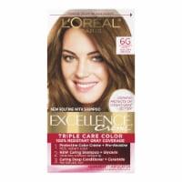 L'Oreal Paris Excellence Creme 6G Light Golden Brown Hair Color Kit
