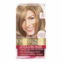 L'Oreal Paris Excellence Creme Triple Protection Medium Blonde 8 Hair Color