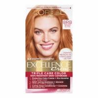 L'Oreal Paris Excellence Creme 8RB Reddish Blonde Hair Color Kit