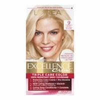 L'Oreal Paris Excellence Creme 9 Light Natural Blonde Hair Color Kit