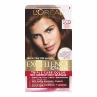 L'Oreal Paris Excellence Creme Triple Protection Color 5CB Medium Chestnut Brown