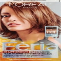 L'Oreal Paris Feria B61 Hi-Lift Cool Brown Hair Color Kit