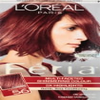 L'Oreal Paris Feria 56 Auburn Brown Permanent Hair Color Kit - 1 ct