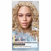 L'Oreal Paris Feria 100 Very Light Natural Blonde Permanent Hair Color Gel