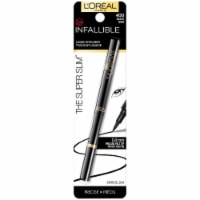 L'Oreal Paris Infallible Super Slim 400 Black Liquid Eyeliner