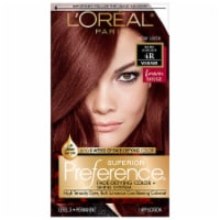 L'Oreal Paris Superior Preference 4R Dark Auburn Permanent Hair Color Kit - 1 ct