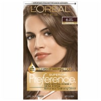 L'Oreal Paris Superior Preference Natural Light Brown 6 Permanent Hair Color
