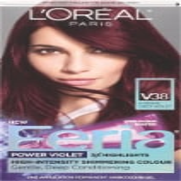 L'Oreal Feria Power Violet V38 Intense Deep Violet Hair Color