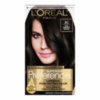 L'Oreal Paris Superior Preference Cool Darkest Brown 3C Hair Color