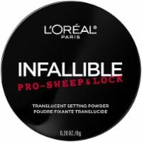 L'Oreal Paris Infallible Pro-Sweep & Lock Translucent Loose Setting Powder - 0.28 oz