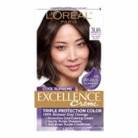 L'Oreal Paris Cool Supreme Excellence Creme 3UA Ultra Ash Natural Black Hair Color - 1 ct