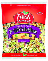 Fresh Express 3-Color Deli Cole Slaw Mix