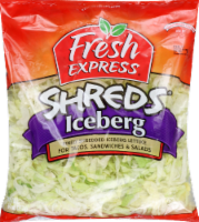 Fresh Express Lettuce Iceberg Shreds