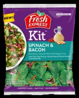 Fresh Express Spinach & Bacon Salad Kit