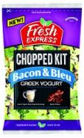 Fresh Express Greek Yogurt Bacon & Bleu Chopped Salad Kit