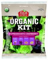 Fresh Express Organic Pomegranate Cranberry Salad Kit