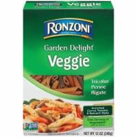 Ronzoni Garden Delight Veggie Tricolor Penne Rigate Pasta - 12 oz