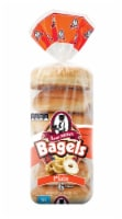 Aunt Millie's Plain Bagels 6 Count