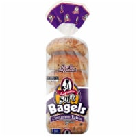 Aunt Millie's Cinnamon Raisin Bagels 6 Count