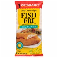 Zatarain's New Orleans Style Fish Fri Seasoned Breading Mix - 10 oz