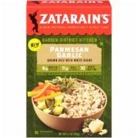 Zatarain's Garden District Kitchen Parmesan Garlic Brown Rice with White Beans