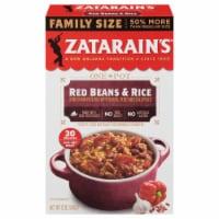 Zatarain's Red Beans & Rice Dinner Mix Family Size