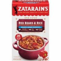 Zatarain's Reduced Sodium Red Beans & Rice - 8 oz