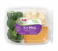 Dole Mini Meal-Red Pepper Hummus Snack Tray
