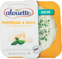 Alouette Parmesan & Basil Soft Spreadable Cheese