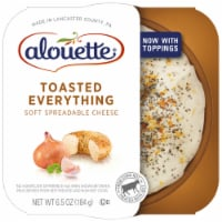 Alouette Toasted Everything with Sea Salt Spreadable Cheese