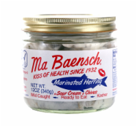 Ma Baensch Marinated Herring in Sour Cream & Chives