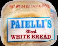 Paielli's Sliced White Bread - 24 oz