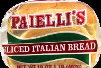 Paielli's Italian Bread