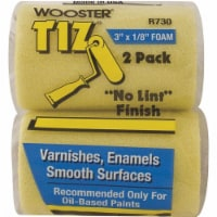 """Wooster Paint Roller Cover,3"""" L,1/8"""" Nap,PK2 HAWA R730-3"""
