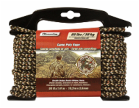 SecureLine 1/4 in. Dia. x 50 ft. L Camouflage Diamond Braided Polypropylene Rope - Case Of: - Count of: 1