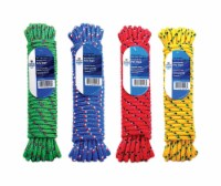 Wellington 3/8 in. Dia. x 50 ft. L Assorted Diamond Braided Poly Rope - Case Of: 1; Each Pack - Count of: 1